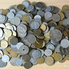Monedas de España: 2.1 KG MONEDAS FRANCO Y JUAN CARLOS I - LOTE 2,1 KILOS . Lote 151825982
