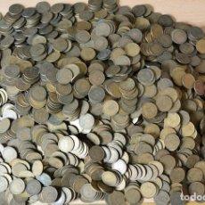 Monedas de España: 7.6 KG MONEDAS FRANCO - ESTADO ESPAÑOL - LOTE 7,6 KILOS . Lote 151830758