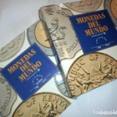 Coins of Spain - MONEDAS DEL MUNDO- ORBIS CARPETAS-4- ARCHIVADOR - 153968186