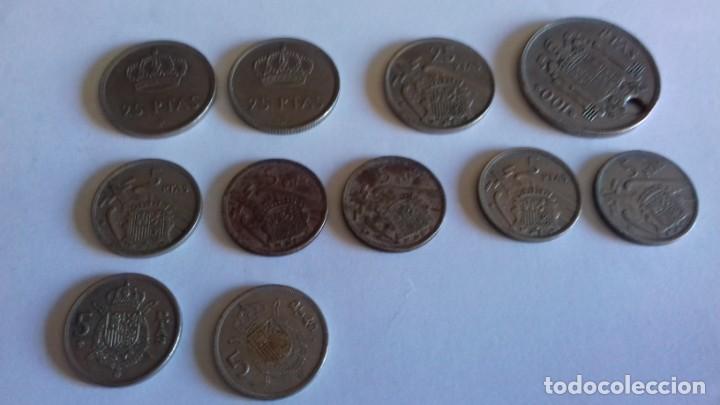 Monedas de España: Lote de varias monedas - Foto 2 - 154437306