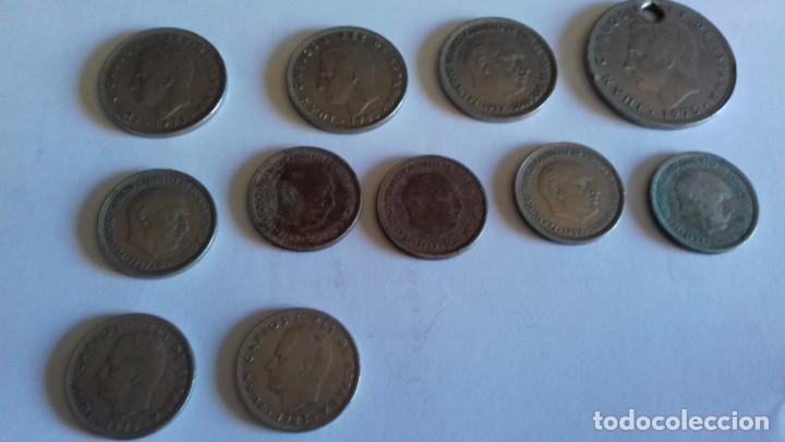 Monedas de España: Lote de varias monedas - Foto 3 - 154437306