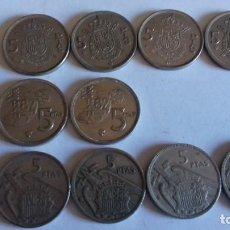 Coins of Spain - lote de 10 duros tal cual - 154437858