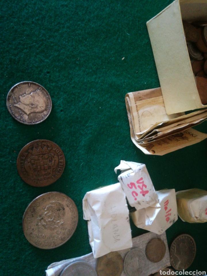 Monedas de España: LOTE DE MONEDAS VARIOS PAISES - Foto 7 - 156834121