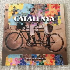 Monedas de España: CARTERA PRUEBA NUMISMATICA CATALUNYA/CATALUÑA 2016. BLISTER COLECCION 8 MONEDAS (PROVA).. Lote 156851072