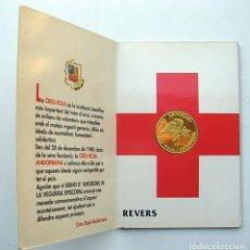 Monedas de España: ANDORRA MONEDA PLATA CRUZ ROJA. TIRADA 5000 EJEMPLARES. PROOF.. Lote 156982086