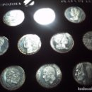 Monedas de España: HISTORIA DE LA PESETA EN PLATA DE LEY. 34 MM DE DIAMETRO.. Lote 158801814