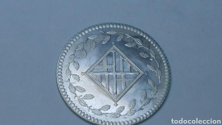 MONEDA CONMEMORATIVA DE LA PESETA EN PLATA DE 800 (Numismática - España Modernas y Contemporáneas - Colecciones y Lotes de conjunto)