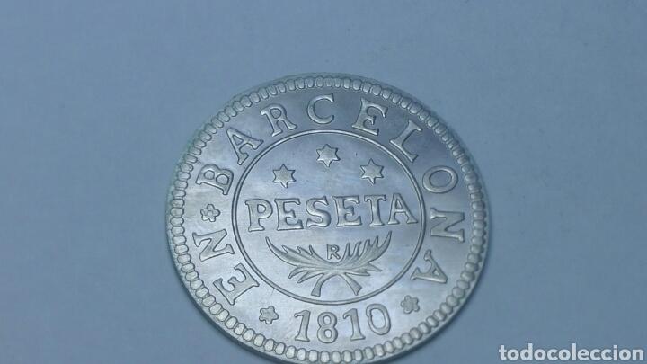 Coins of Spain: Moneda conmemorativa de la peseta en plata de 800 - Foto 2 - 160316302