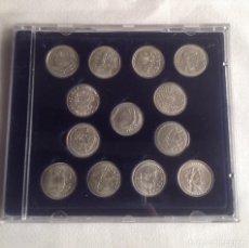 Monedas de España: COLECCION ACUÑADAS EN PLATA DE LOS DUROS ANTIGUOS, LAS ARRAS DE LOS GADITANOS.. Lote 160386506