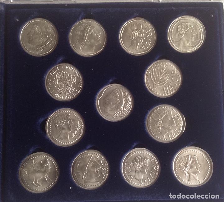 Monedas de España: COLECCION ACUÑADAS EN PLATA DE LOS DUROS ANTIGUOS, LAS ARRAS DE LOS GADITANOS. - Foto 2 - 160386506