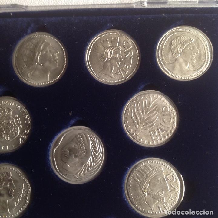 Monedas de España: COLECCION ACUÑADAS EN PLATA DE LOS DUROS ANTIGUOS, LAS ARRAS DE LOS GADITANOS. - Foto 4 - 160386506