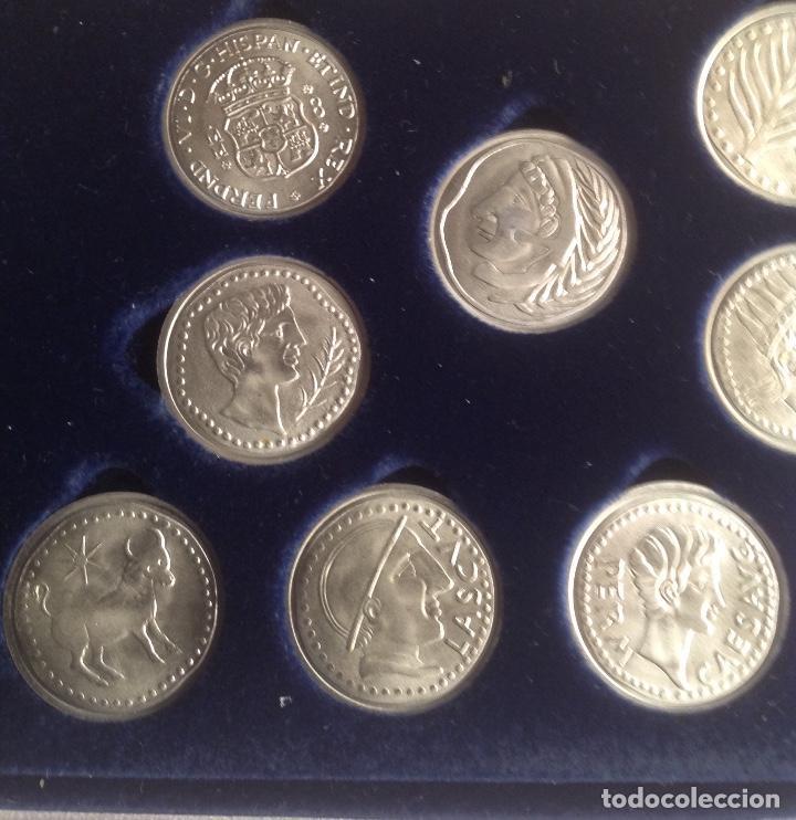 Monedas de España: COLECCION ACUÑADAS EN PLATA DE LOS DUROS ANTIGUOS, LAS ARRAS DE LOS GADITANOS. - Foto 5 - 160386506