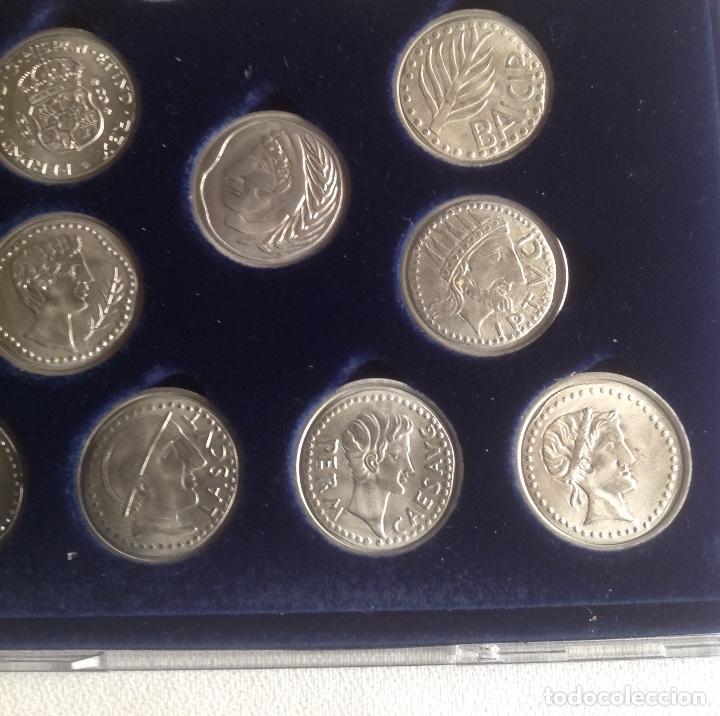 Monedas de España: COLECCION ACUÑADAS EN PLATA DE LOS DUROS ANTIGUOS, LAS ARRAS DE LOS GADITANOS. - Foto 6 - 160386506
