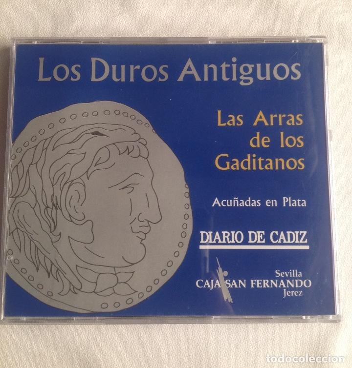 Monedas de España: COLECCION ACUÑADAS EN PLATA DE LOS DUROS ANTIGUOS, LAS ARRAS DE LOS GADITANOS. - Foto 7 - 160386506