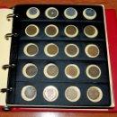 Monedas de España: COLECCIÓN 132 MONEDAS ESTADO ESPAÑOL Y JUAN CARLOS I EN ALBUM PARDO. Lote 160876862