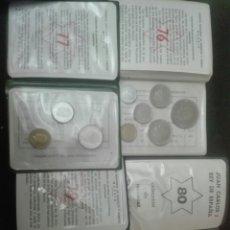 Monedas de España: LOTE 4 CARTERITAS AÑOS 76 77 79 Y 75. *80. Lote 160898744