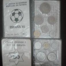 Monedas de España: LOTE 2 CARTERITAS AÑOS 80* 80 Y 75. *80. Lote 160898802