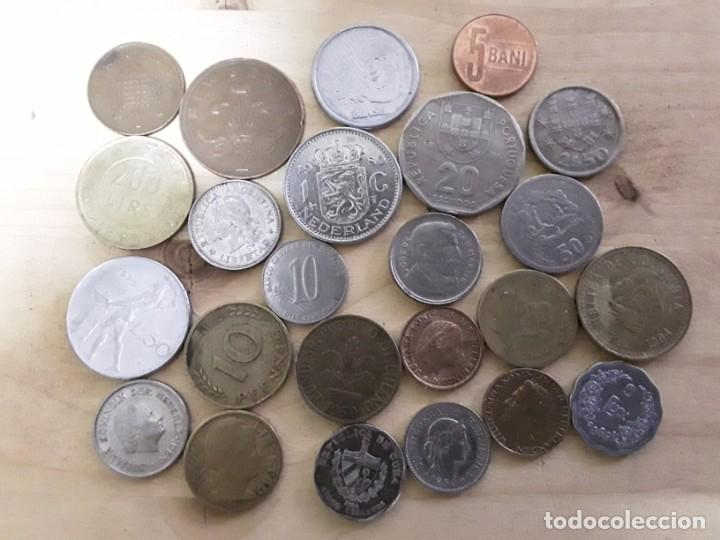 LOTE DE MONEDAS EXTRANJERAS, VER FOTOS (Numismática - España Modernas y Contemporáneas - Colecciones y Lotes de conjunto)