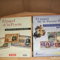 Monedas de España: VOLECCION DE FASCIMILES DE BILLETES ESPAÑOLES. Lote 161780774