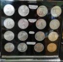 Monedas de España: EXPOSITOR METACRILATO CON 16 MONEDAS DE PLATA DE 2000 PTS 12 €. Lote 163353822