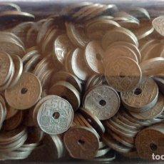 Monedas de España: 400 MONEDAS DE 50 CÉNTIMOS AÑOS CUARENTA. Lote 163581742