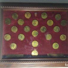 Monedas de España: CUADRO MONEDAS DEL VALENCIA C.F. Lote 164968978