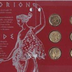Monedas de España: 2ª COLECCIÓN DE 12 MONEDAS GRIEGAS DE PLATA DE EMPURIES Y ROSAS DE EL OBSERVADOR. Lote 165395446