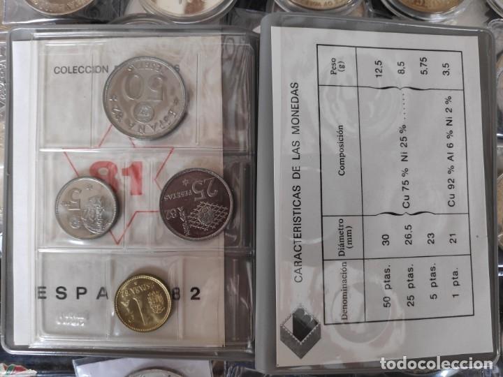 Monedas de España: CARTERA COMPLETA ANUAL 1981 ESPAÑA SERIE NUMISMATICA MUNDIAL 82 ( AÑO 1980 ESTRELLAS *81*) - Foto 3 - 184144426
