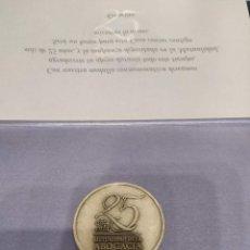 Monedas de España: MONEDA CONMEMORATIVA 25 AÑOS MUTUALIDAD DE LA ABOGACÍA. Lote 166884988