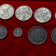 Monedas de España: LOTE DE DOCE (12) MONEDAS PLATA VARIADAS. Lote 166911968