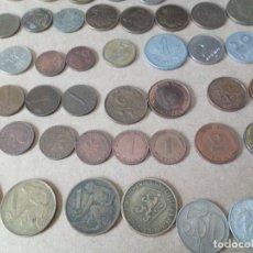 Monedas de España: LOTE DE 75 MONEDAS DISTINTOS PAÍSES DEL MUNDO ( SUIZA, MACAO, POLONIA, CHILE...). Lote 167008376
