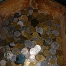 Monedas de España: LOTAZO DE MONEDAS EXTRANGERAS Y ESPAÑOLAS (REPUBLICA, FRANCO Y REY JUAN CARLOS 1)CAJA NO INCLUIDA. Lote 168009213