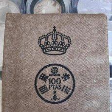 Monedas de España: ESPAÑA CARTERA ANUAL 1980. COMPLETA SERIE NUMISMÁTICA MUNDIAL 82' (AÑO 1980 ESTRELLAS *80*)FILABO. Lote 182753606