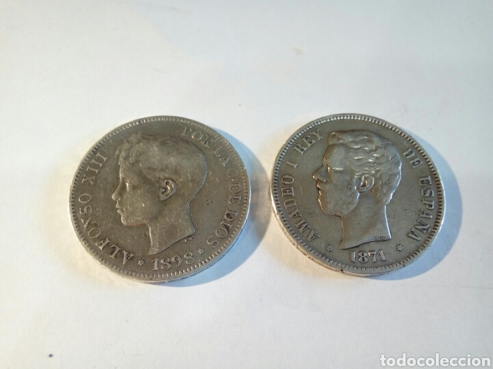 Monedas de España: LOTE DE 2 MONEDAS DE PLATA - Foto 2 - 168694981