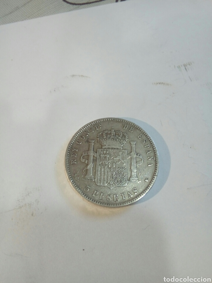 Monedas de España: LOTE DE 2 MONEDAS DE PLATA - Foto 3 - 168694981