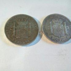Monedas de España: LOTE DE 2 MONEDAS DE PLATA. Lote 168694981