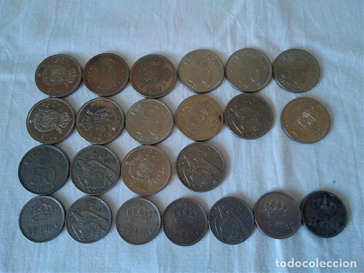 16-LOTE MONEDA ESPAÑOLA, VER FOTOS (Numismática - España Modernas y Contemporáneas - Colecciones y Lotes de conjunto)