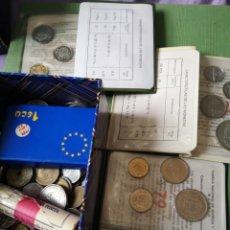 Monedas de España: LOTE DE MONEDAS ESPAÑOLAS Y EXTRANJERA 1 ECU Y MAS. Lote 174020645