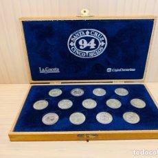 Monedas de España: ARRAS PLATA DE LEY QUINTO CENTENARIO SANTA CRUZ DE TENERIFE. Lote 174053162