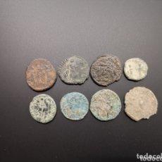 Monedas de España: LOTE 8 MONEDAS ROMANAS A IDENTIFICAR Y LIMPIAR. Lote 175264484
