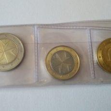 Monedas de España: **SERIE DE 8 VALORES DE EUROS DE MALTA 2008, SIN CIRCULAR**. Lote 175514789