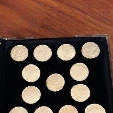 Monedas de España: ESTUCHE CON 13 MONEDAS PLATA REPRODUCCION MONEDAS HISTORICAS REINO DE NAVARRA. Lote 174978627