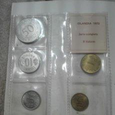 Monedas de España: ISLANDIA 8 VALORES SERIE COMPLETA. Lote 176509264