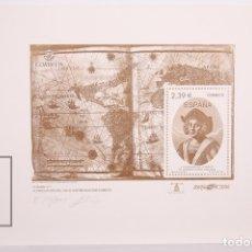 Monedas de España: GRABADO Nº 1 - V CENTENARIO DE LA MUERTE DE CRISTÓBAL COLÓN - BARNAFIL 2006 - EJEMPLAR 150/1000. Lote 177579017