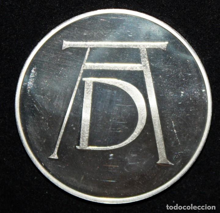 Monedas de España: COLECCION DE 12 MEDALLAS EN PLATA DE 999 M. DE ALBERTO DURERO CON SU EXPOSITOR DE METACRILATO - Foto 8 - 178863717