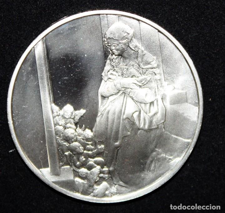 Monedas de España: COLECCION DE 12 MEDALLAS EN PLATA DE 999 M. DE ALBERTO DURERO CON SU EXPOSITOR DE METACRILATO - Foto 9 - 178863717