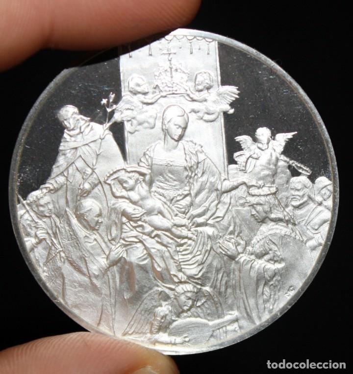 Monedas de España: COLECCION DE 12 MEDALLAS EN PLATA DE 999 M. DE ALBERTO DURERO CON SU EXPOSITOR DE METACRILATO - Foto 11 - 178863717