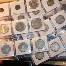 Monedas de España: COLECCIÓN 57 MONEDAS SUIZA, PORTUGAL E ITALIA, MUCHAS MONEDAS PLATA. VER FOTOGRAFÍAS. SILVER. Lote 178970065