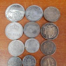 Monedas de España: LOTAZO 15 MONEDAS ESPAÑOLAS (PESETAS), DISTINTAS ÉPOCAS.. Lote 179062503