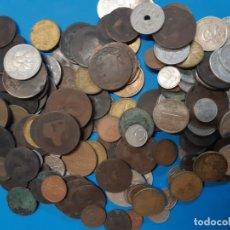 Monedas de España: LOTE DE MONEDAS. ANTIGUAS Y MODERNAS. VER FOTOS PARA VER QUE HAY. PRECIO DE REGALO. Lote 179163322
